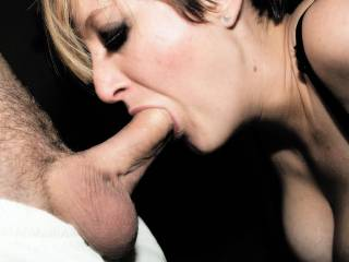Fuck me!! Would so love to have my cock in that sexy mouth of yours! Amazing pic!!