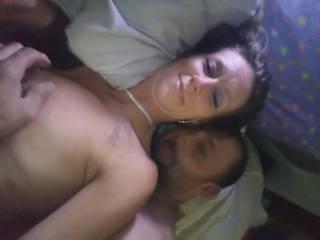Holding him so close that i can feel his hard dick laying between my butt cheeks!!! Mmmm sooo wonderful  Man w b
