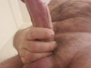 Couldn\'t rest, woke up super early horny as hell so I stroked my cock for hours before work