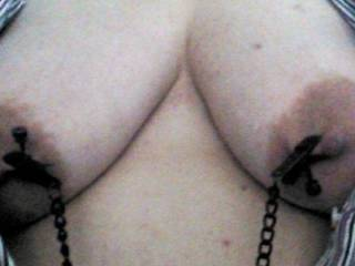 Like my friends nipple clamps?