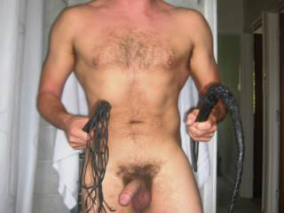 you have probably been a very bad boy...i am quite sure that you need a good whipping.
