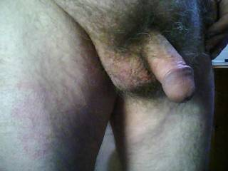 beautiful circumcised cock you have there, such a lovely flared glans,yum..