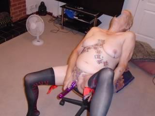 Hi just got a new vibrator love it comments please mature couple
