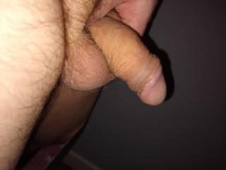 Rubbing myself!