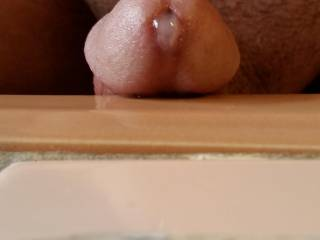 Had the vibrator hitting my prostate and started leaking some cum, wanna help clean it up?? ^_^