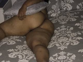 Wife's thick thighs and ass