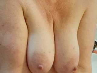 Like my big full MILF tits? 😈