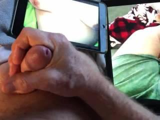 Masturbating for my sexting pal.