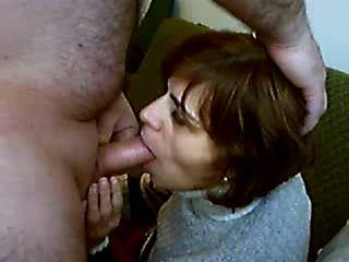 beautiful blowjob beautiful ending her eyes say it all and the way she slowly milks mouths his cock priceless