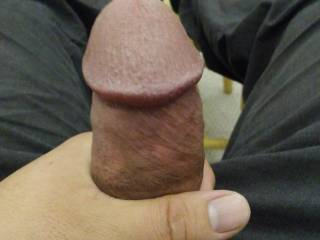 Like to feel your cock head in my mouth right now.