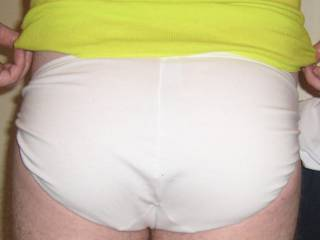 Sexy white cotton string side panties