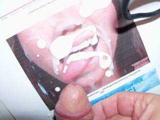 Beachbabe made me cum!!!  She is so HOT, and loves cum on her face, I would love to make her cum with my tounge...