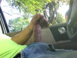 I had to beg my secret lover to jerk off on the work sight and upload it...... He said his female co-workers could see him from the roof top! Ladies, would u let him unload in ur pussy, ass, or mouth?
