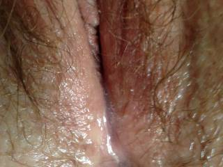 she was showing me her ex\'s jizz