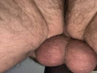 Hard balls when I pump my dick