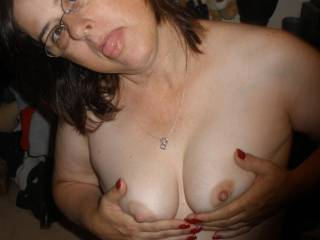 can cover your hot cute smile and those sweet nipples anytime your ready