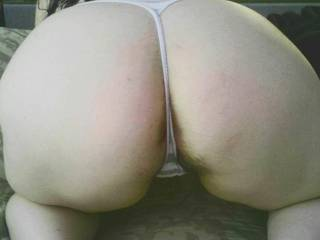 Damn mami...that ass and that pussy...mmmm I'd eat that out then pound this big black cock into everyhole! Definitely got mybdick hard.
