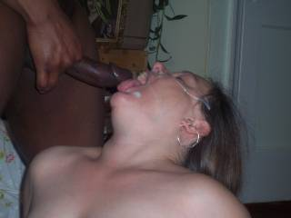 I hope that blk dick is not married, because if he is then his wife would have just gotton PUNK'D!!  She is a damn good girl