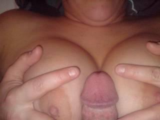 wife titfuck