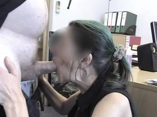 Dicktation, Ms Jones! Pt2 of 2  More of the same from where we left off, sucking, fucking and I cum in her mouth.  Almost worth going to work :-)