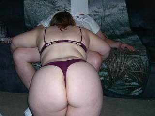 Gotta love it when her hubby takes a pic of his wife going down on you!  Doesn\'t she have a great looking ass?