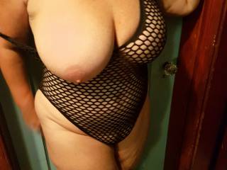 Sexy outfit....just won\'t stay in.