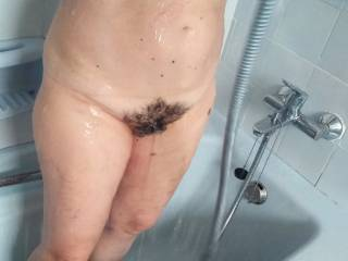 Taking a shower before fucking
