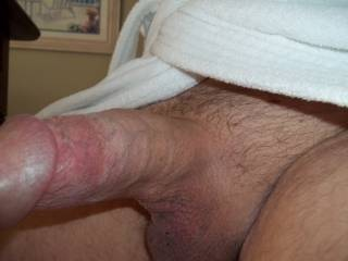 Thick Turkish robe and thick Colorado cock.