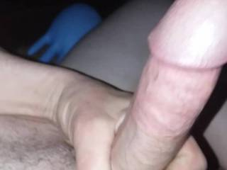 Starting too play with my cock