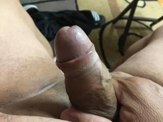 I love rubbing my cock!!!