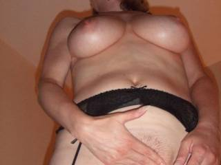Wow! How gorgeous! Love for you to stand above me like that and grip my cock to guide it between those sexy pussy lips!!!