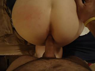 MMM  a little cream pie and then a good wet pussy to fuck! I will take seconds.
