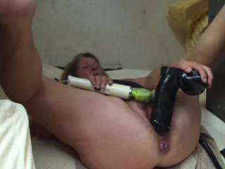 wow she got my cock rock hard wish it was my cock fucking her wet pussy