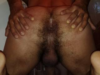 Love to slide my cock into that hot&hairy ass!!!!