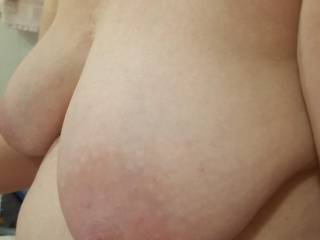 Huge milk filled tits are such a treat... wouldn;t you agree?