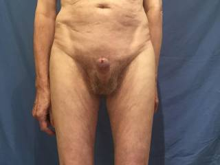 It would be a shame to let this erection go to waste, would you like to lie back and let me  brush it delicately across your clit?
