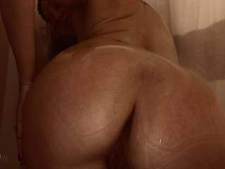 My hubby always comments on my sweet hot ass... he loves it!  Do you like what ya see?