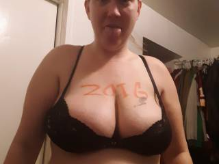 Fat tits with sexy bitch