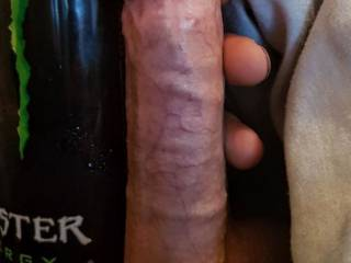 So ladies what do you think makes this fucking big cock of mine stand up like this????