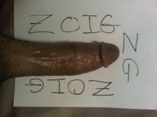 my thick cock showing love for zoig