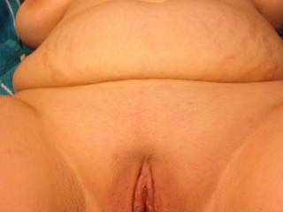 My husband likes to take pictures of me before we fuck. I act as if I don't like it but I have always secretly wanted to show everything to perfect strangers. I am a BBW and I am proud of it. I have 36 G tits. My pussy is always soaking wet because my hus