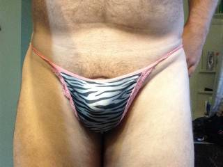 you can borrow my panties, cum all over them and you dont even need to wash them