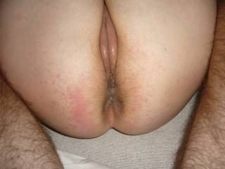 Yeahhhh, I am an ass-man. I would like to lick and fuck both holes.