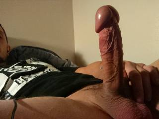 Love that thick cock and big meaty head beautiful!