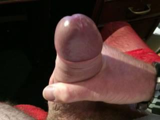 Hard pantied cock