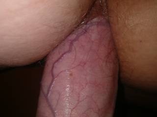 She is so wet, my cock is slipping in so beautifully. Juices are glistening on my cock. Stunning.
