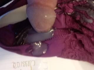 On my little girls panties
