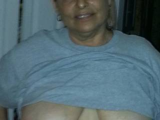 My hubby loves my tittys