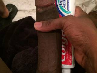 Mmmmmm brush my teeth with that use some cream