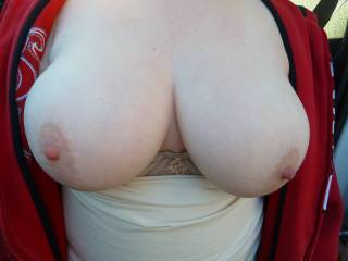 awesome tits on the Sub...waiting on her use pix too....make her naughty
